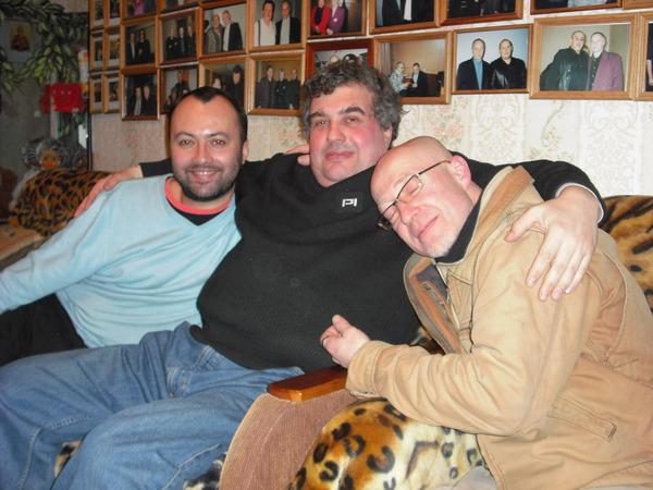 Максим Кравчинский, Евгений Гиршев и Владимир Шиленский
