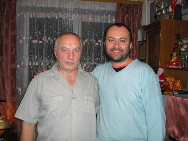 Максим Кравчинский и В. Окунев
