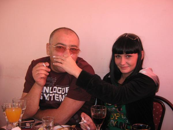 С. Арутюнян с супругой