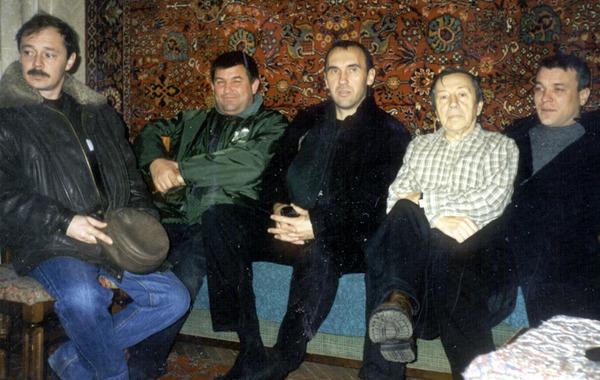 Г. Ломоносов, Ю. Кацап, И. Южный, С. И. Маклаков и А. Дюмин