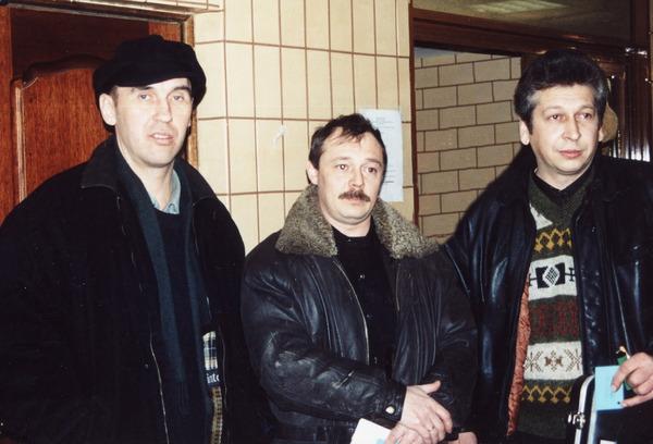 """И. Южный, Г. Ломоносов, В. Баранов (""""Звёздная пурга - 2000 г."""")"""