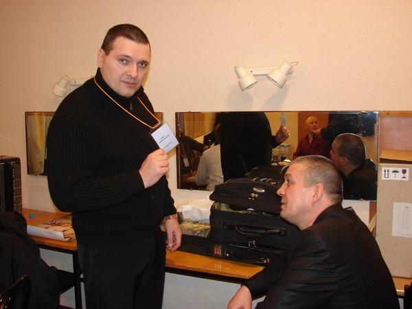 Александр Звинцов и Сергей
