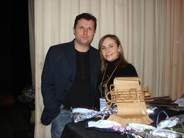 Анатолий Корж и Марина Филипская