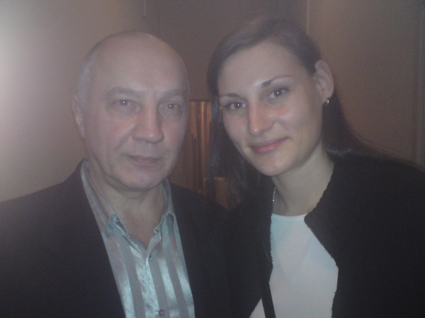 Владимир Окунев и Илона Тюмина