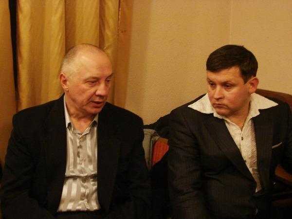 Владимир Окунев и Юрий Белоусов
