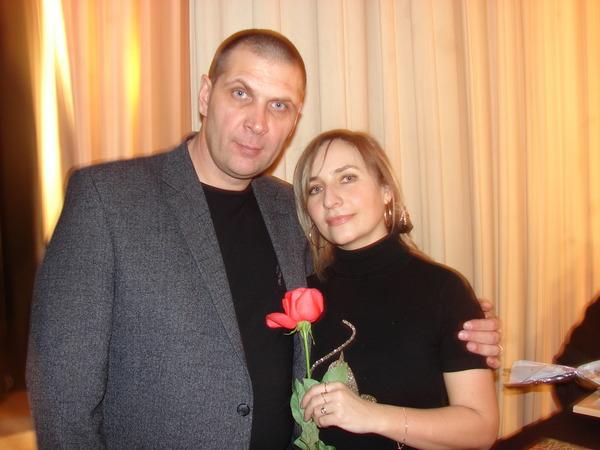 Олег Андрианов и Марина