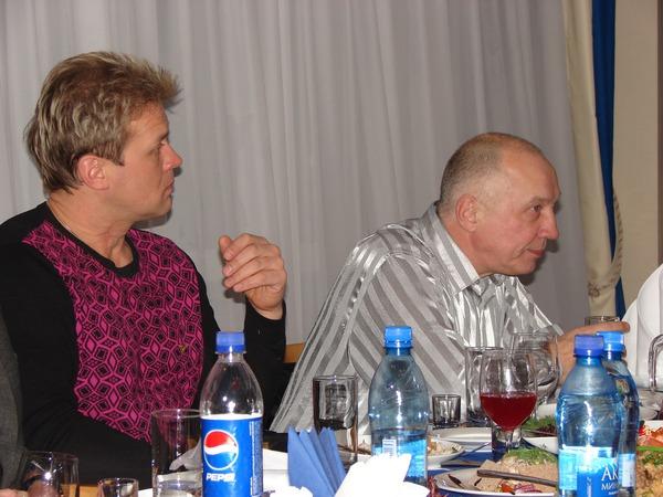 Сергей Любавин и В. Окунев