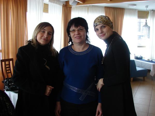 Марина, Ольга Воробьёва и Анна Ниткина