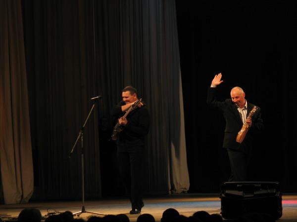 Александр Звинцов и Владимир Окунев