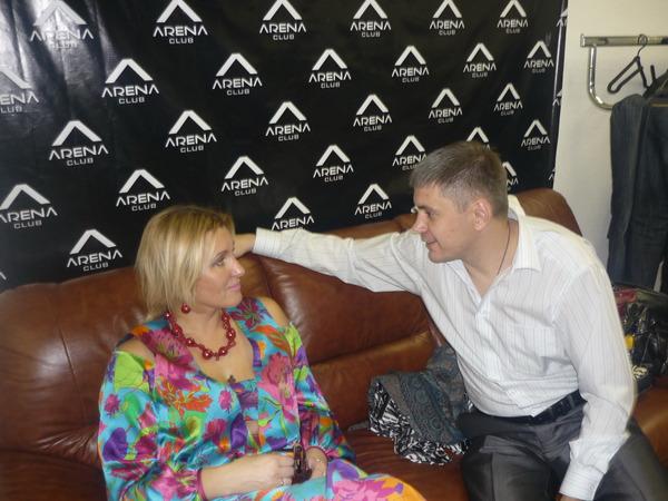 Владимир Цветков и Светлана Питерская