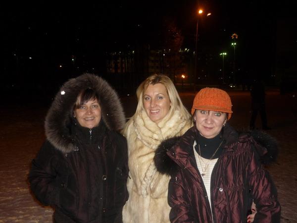 Организатор концерта Анжела, Светлана Питерская, администратор Наташа - г. Нерюнгри