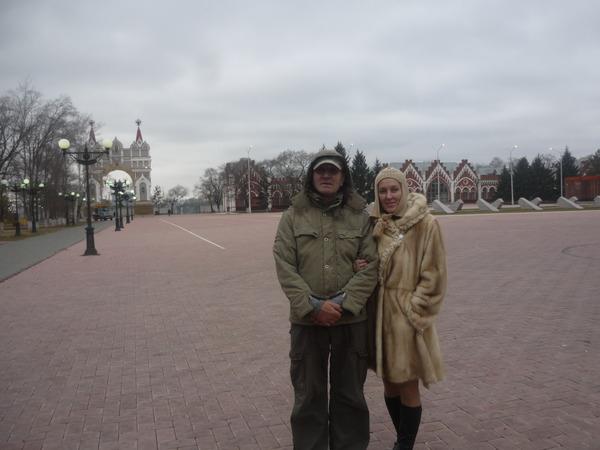 Лев Аллилуев и Светлана Питерская (г. Благовещенск)