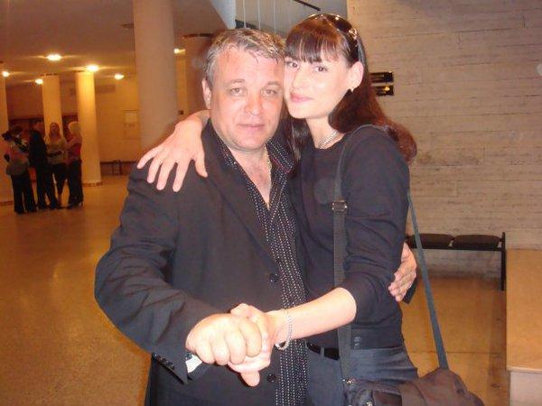 А. Дюмин и Илона Тюмина