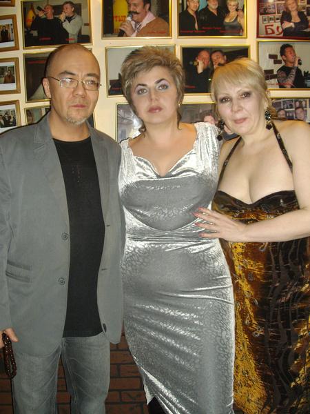 А. Черкасов, Эльвира и С. Астахова