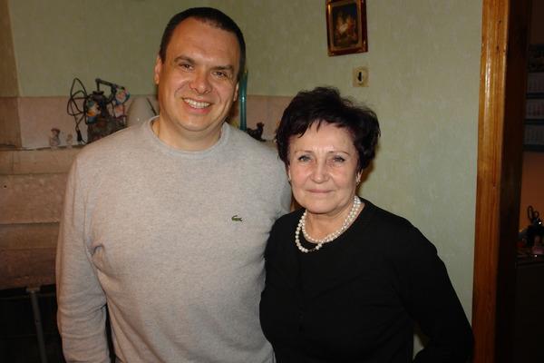 Алексей КНЯЗЕВ и Татьяна ГОЛОБУРДА