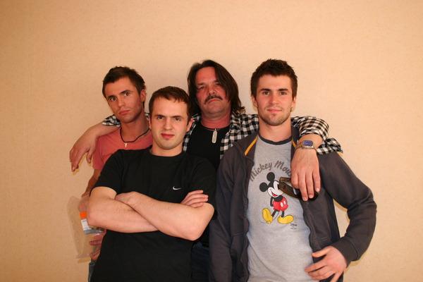 А.Панчик и сыновья: Артём, Александр,   Владимир