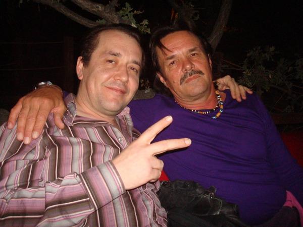 Фоад Бикбаев(бэк вокалист первого диска) и А. Панчик