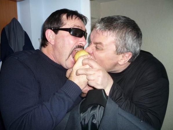 Владимир Ждамиров и Александр Дюмин