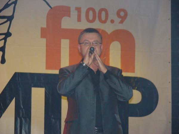 ведущий концерта Николай Орловский