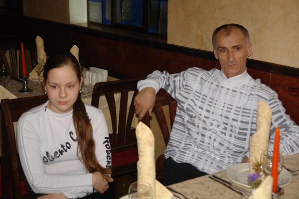 Юля и Юнус - гости концерта
