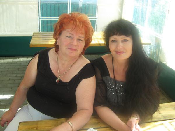 Людмила Марковна Билера и Наталья
