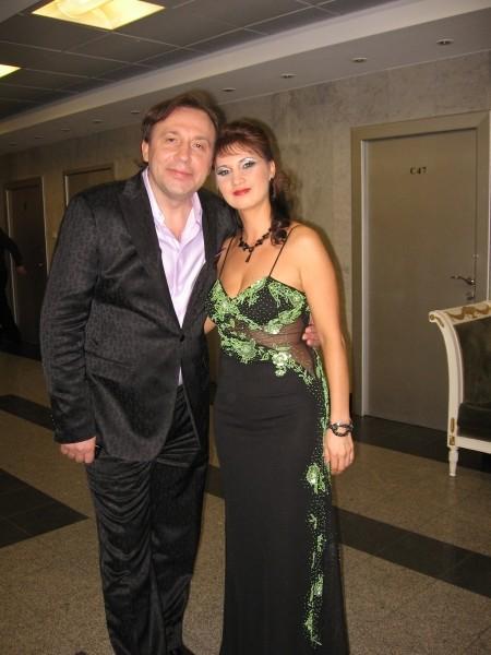 Аня Воробей и Евгений Кемеровский