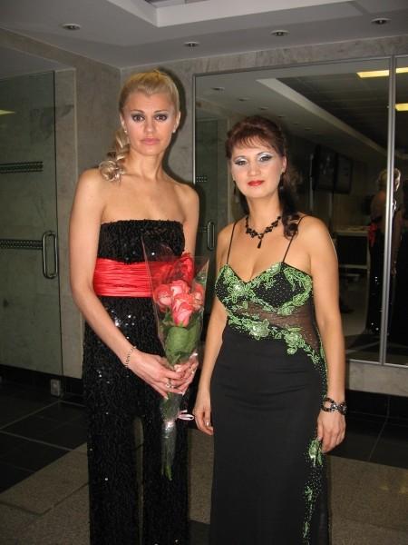 Аня Воробей и Ирина Круг