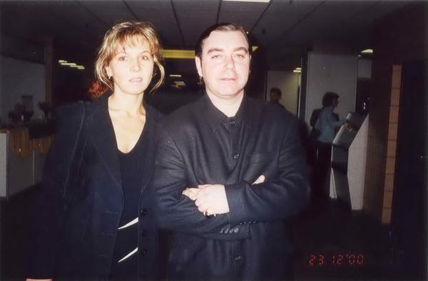 Инна Наговицына и Игорь Герман