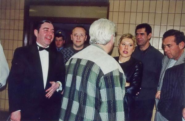 """в кулуарах """"Звёздной пурги"""" в """"Олимпийском"""", Москва - 2000 г."""