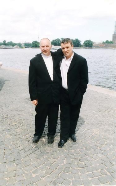 Владимир Окунев и Александр Дюмин, С. Петербург
