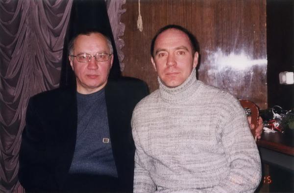Владимир Окунев и Олег Пахомов