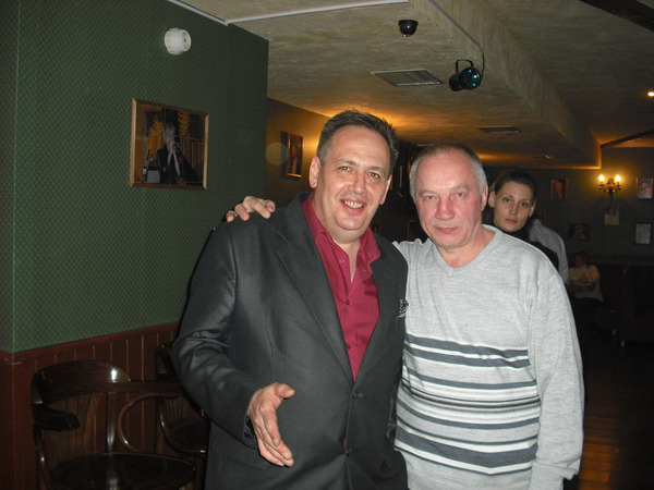 Леонид Азбель и В. С. Окунев