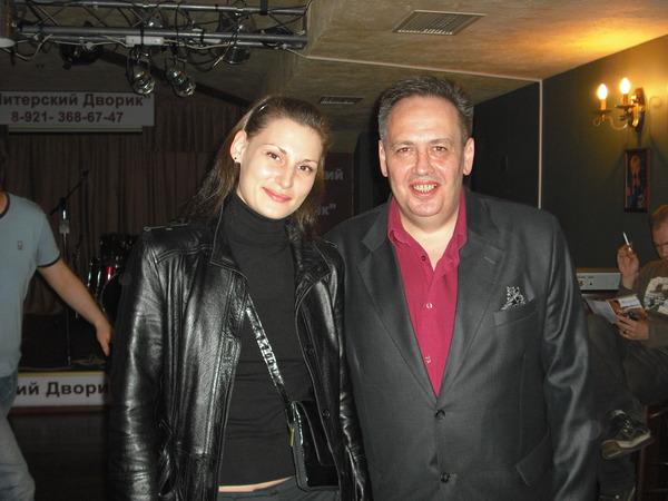 Илона Тюмина и Леонид Азбель