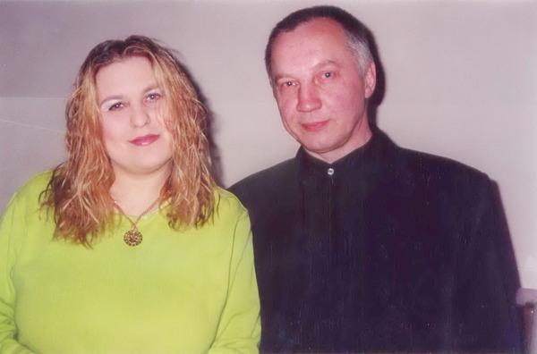 Катя Огонёк и В. Окунев