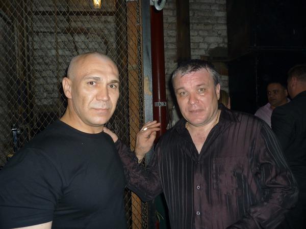 А. Дюмин и Леонид Антонов