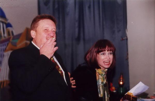 Н. С. Резанов и Кира Хабарова