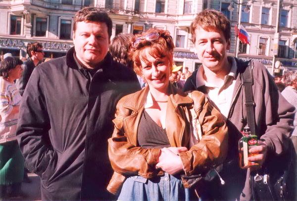 В. Ночной, Ольга и Михаил Каневские