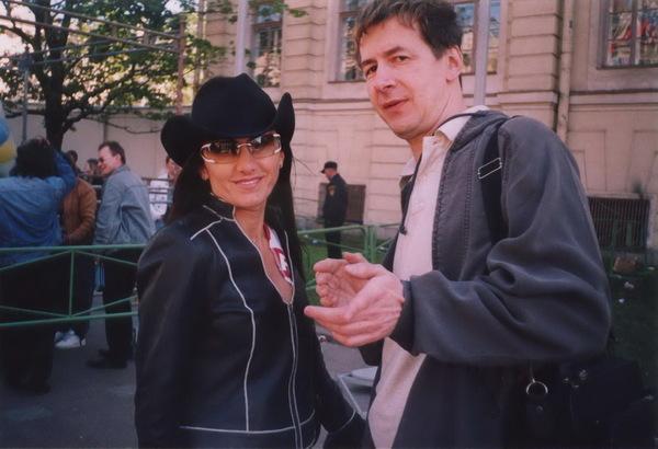 Афина и Михаил Каневский