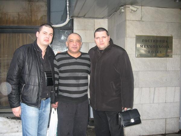 Стас, С. Арутюнян и А. Звинцов