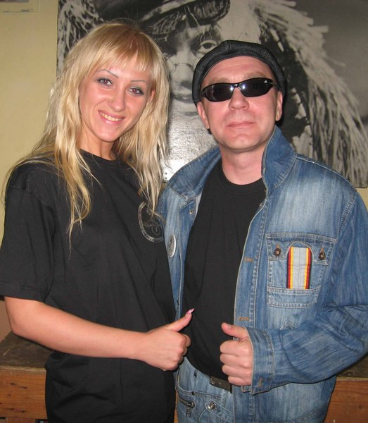 с Анной Ричч