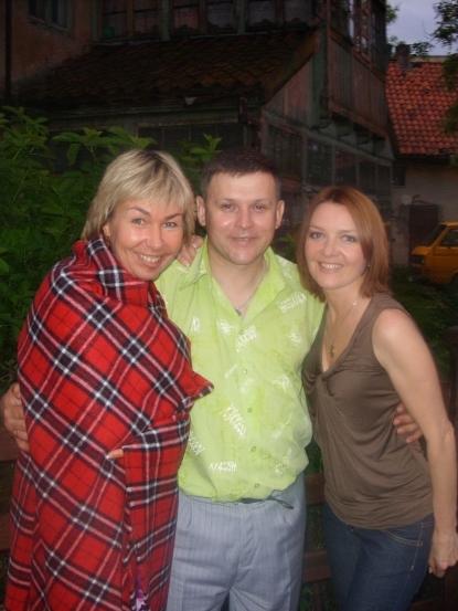 Ксения Стриж, Ю. Белоусов, Т. Дяченко