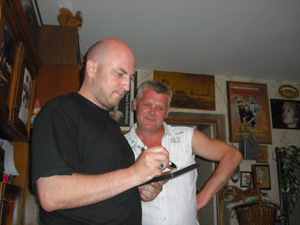 Саша Адмирал и Александр Зайберт