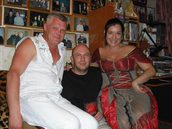Лала Хопер, Саша Адмирал и Александр Зайберт