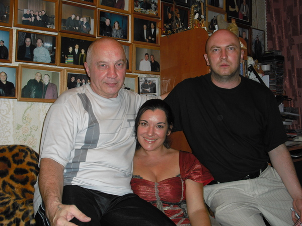 В. Окунев, Лала Хопер и А. Зайберт