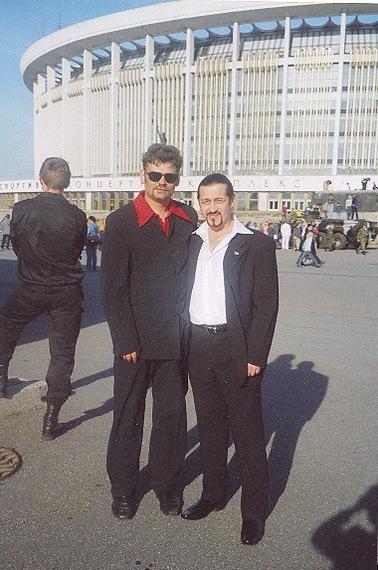Василий Чучнев и Слава Полосьмаков