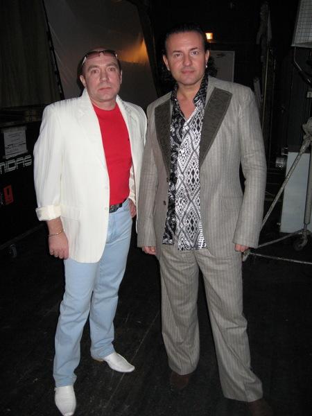 Олег Пахомов с Сергеем Рогожиным