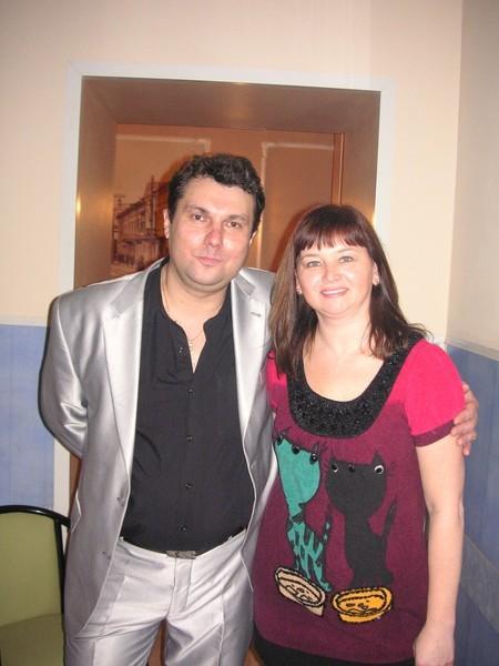 Анатолий Корж и Оля Вольная