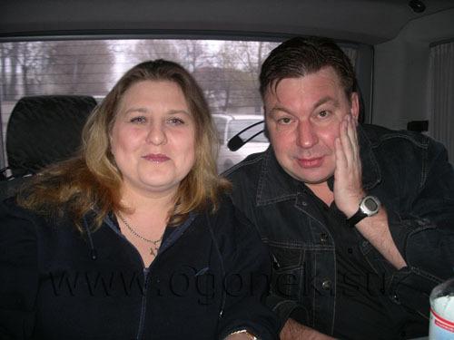 Катя Огонёк и Михаил Шелег