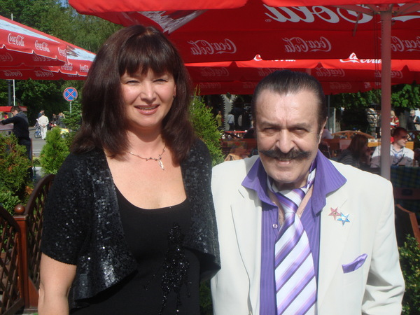 Оля Вольная и Вилли Токарев