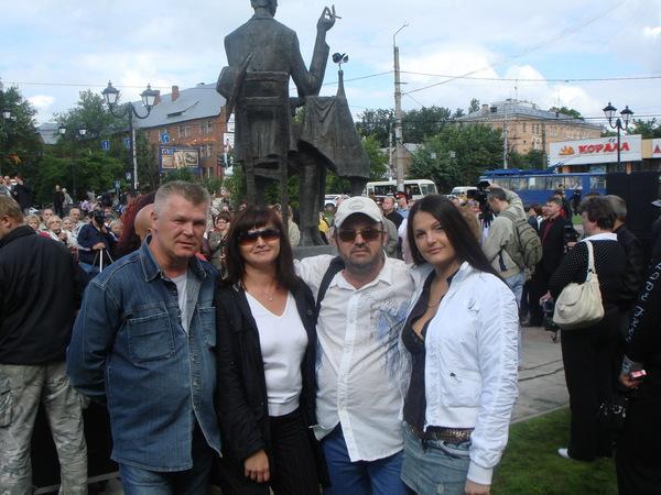 Саша Адмирал, Оля Вольная, Алексей Созонов, Мила Руденская